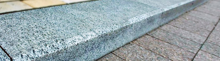 Granite borders (curbs)